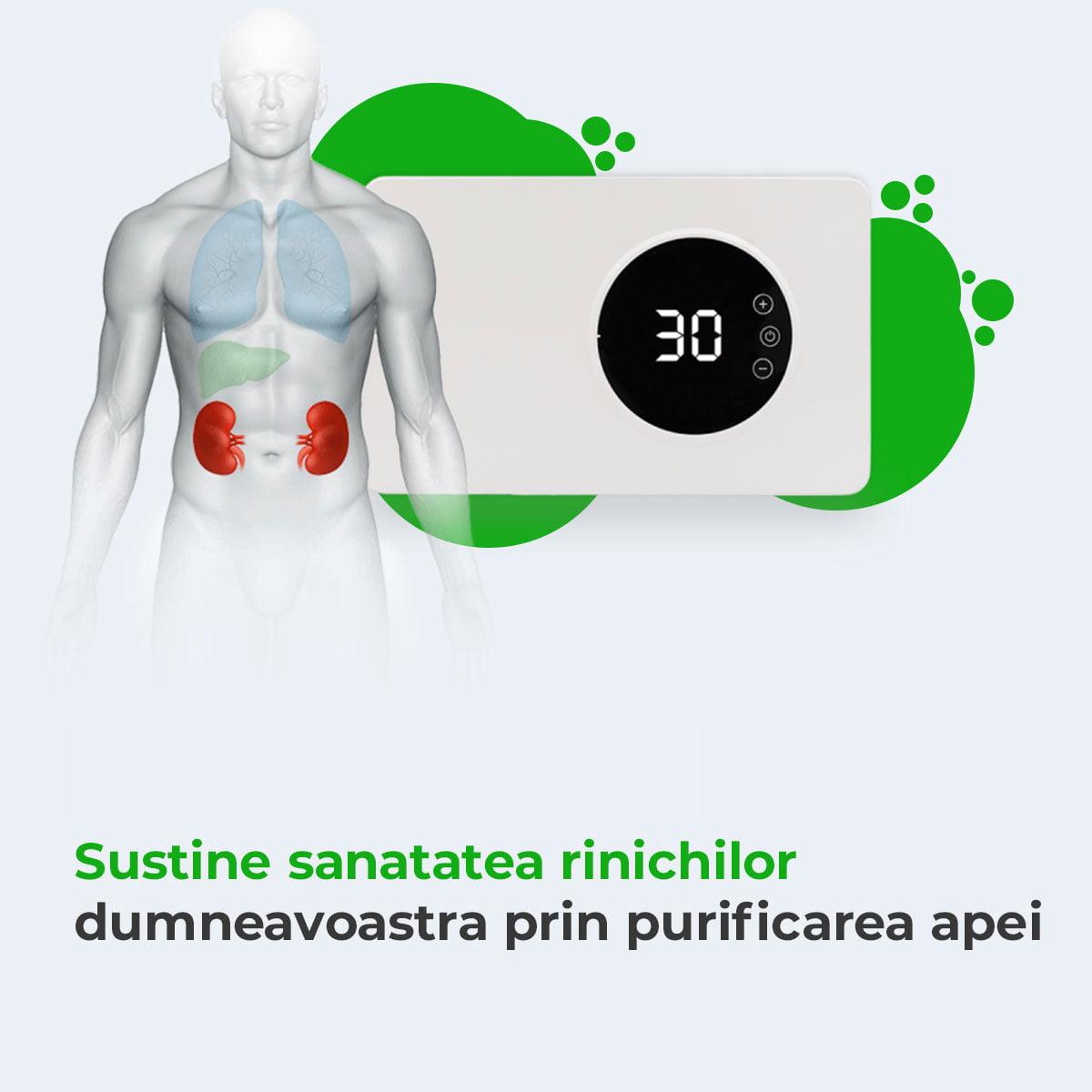 Purificator Multifunctional, Eliminare Poluare Biologica